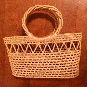 Other - Straw decor basket